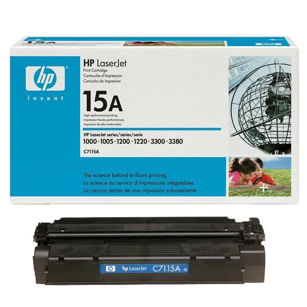 Заправка картриджа HP 15A (C7115A) в Москве