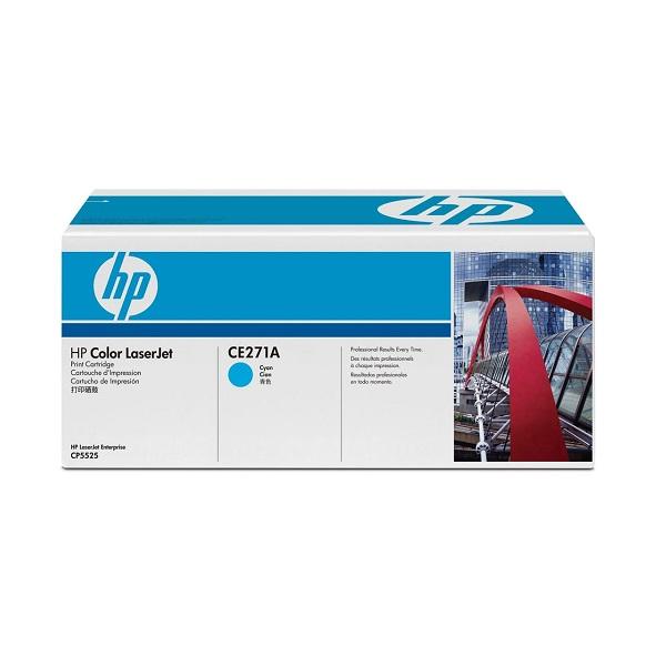 Заправка картриджа HP 650A (CE271A) в Москве