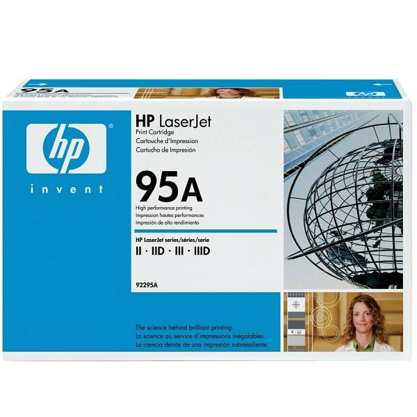 Заправка картриджа HP 95A (92295A) в Москве