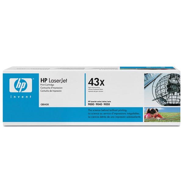 Заправка картриджа HP 43X (C8543X) в Москве