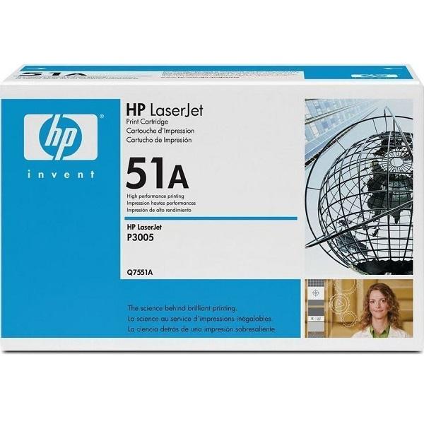Заправка картриджа HP 51A (Q7551A) в Москве