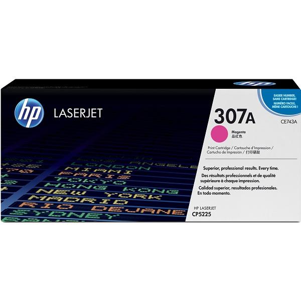 Заправка картриджа HP 307A (CE743A) с выездом