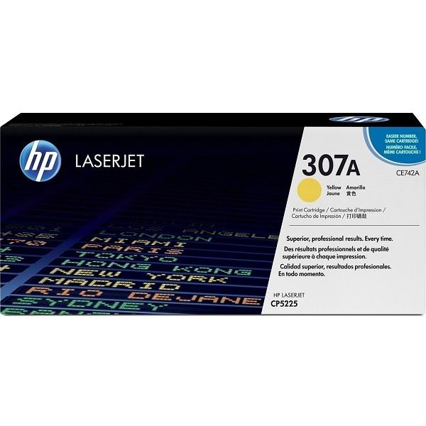 Заправка картриджа HP 307A (CE742A) с выездом