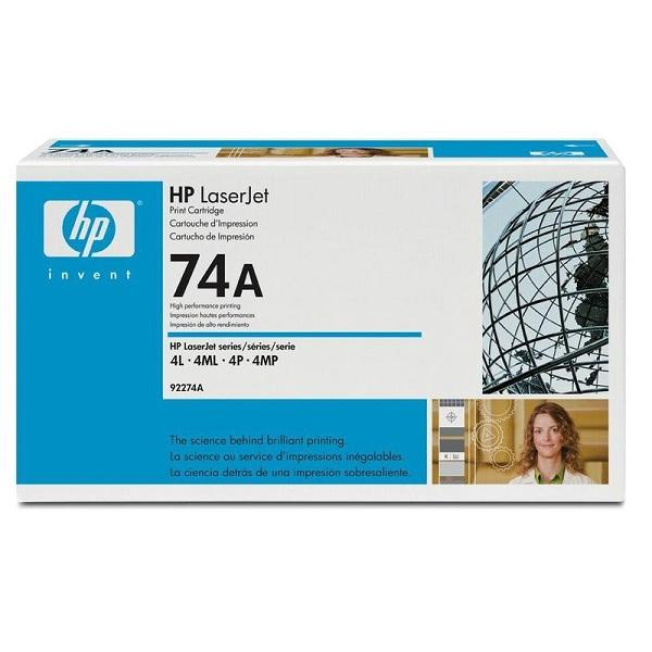 Заправка картриджа HP 74A (92274A) в Москве