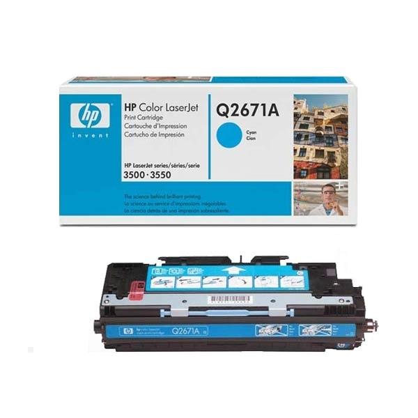 Заправка картриджа HP 309A (Q2671A) в Москве