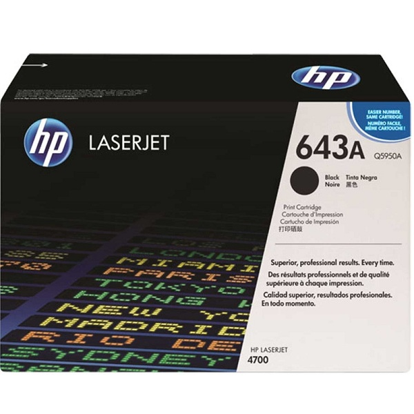 Заправка картриджа HP 643A (Q5950A) с выездом