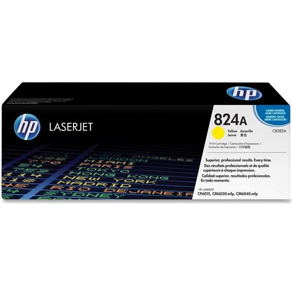 Заправка картриджа HP 824A (CB382A) в Москве