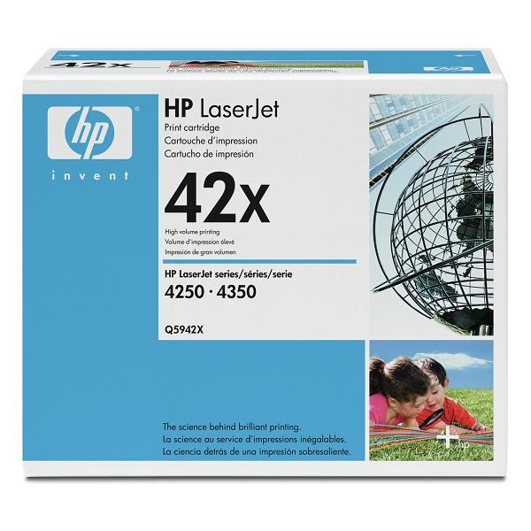 Заправка картриджа HP 42X (Q5942X) в Москве