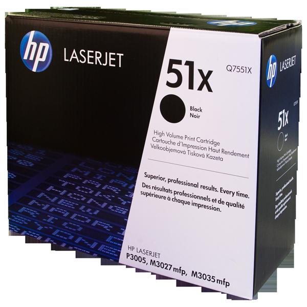 Заправка картриджа HP 51X (Q7551X) с выездом