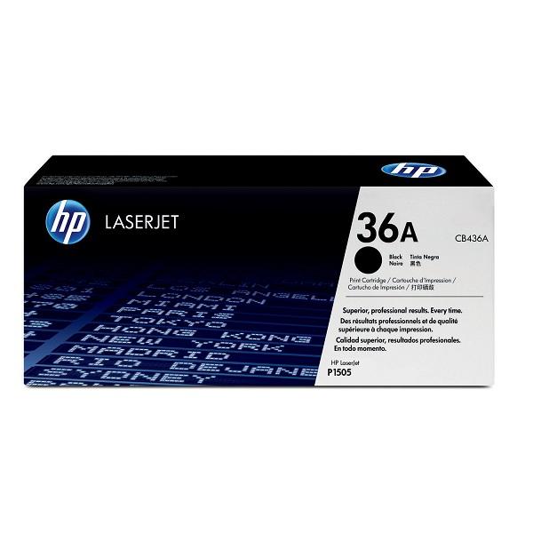 Заправка картриджа HP 36A (CB436A) с выездом