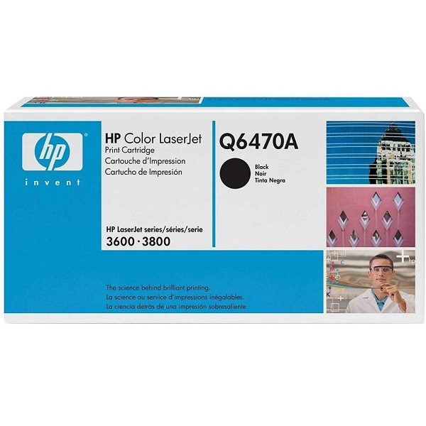 Заправка картриджа HP 501A (Q6470A) в Москве