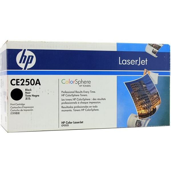 Заправка картриджа HP 504A (CE250A) с выездом