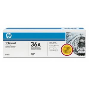 Заправка картриджа HP 36A (CB436A) в Москве