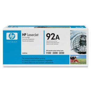 Заправка картриджа HP 92A (C4092A) в Москве