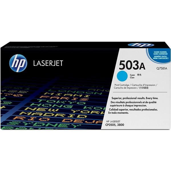Заправка картриджа HP 503A (Q7581A) с выездом