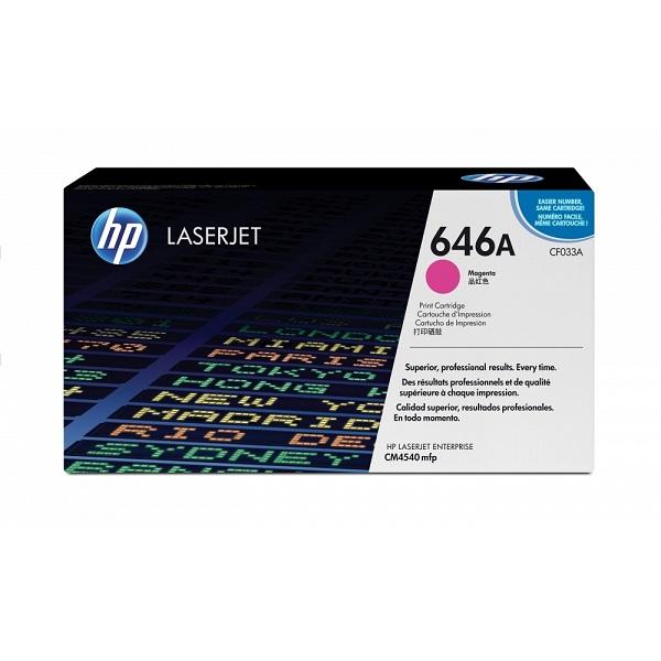 Заправка картриджа HP 646A (CF033A) с выездом