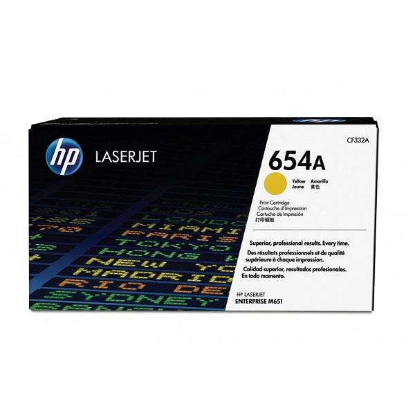 Заправка картриджа HP 654A (CF332A) в Москве