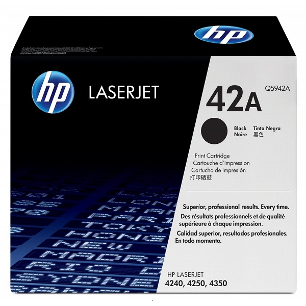 Заправка картриджа HP 42A (Q5942A) с выездом