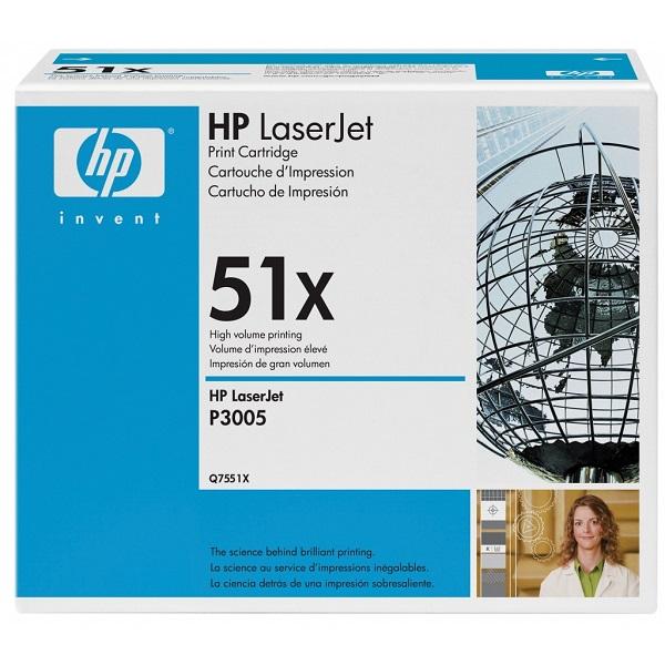 Заправка картриджа HP 51X (Q7551X) в Москве