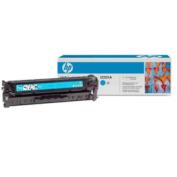Заправка картриджа HP 304A (CC531A) с выездом