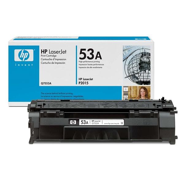 Заправка картриджа HP 53A (Q7553A) с выездом