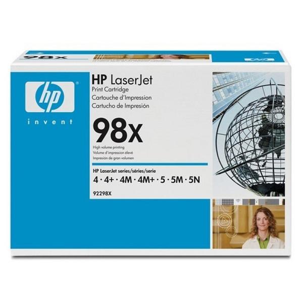 Заправка картриджа HP 98X (92298X) в Москве