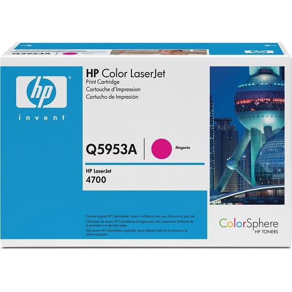 Заправка картриджа HP 643A (Q5953A) в Москве