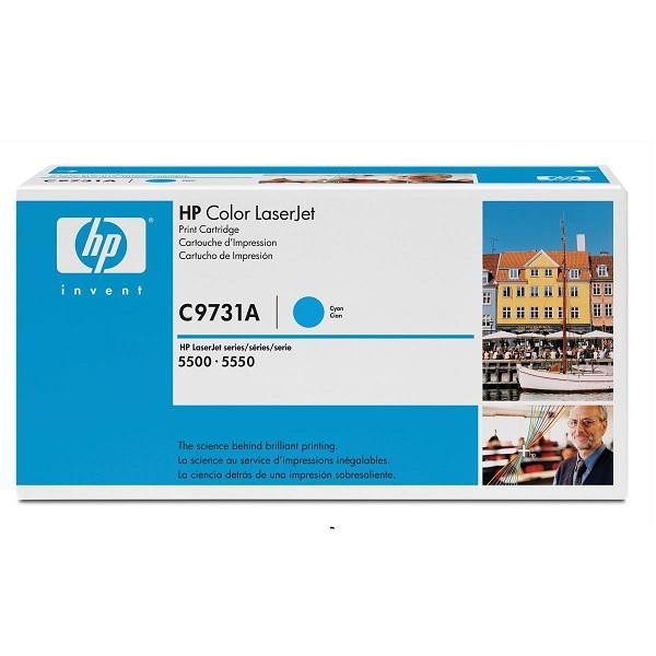 Заправка картриджа HP 645A (C9731A) в Москве