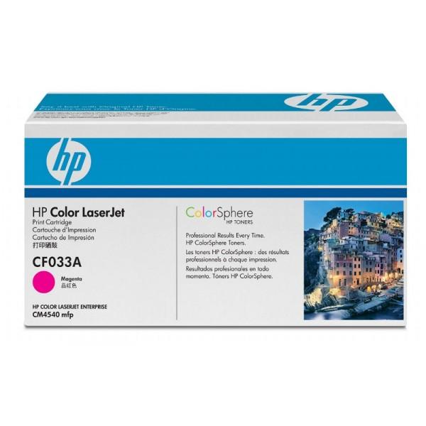 Заправка картриджа HP 646A (CF033A) в Москве