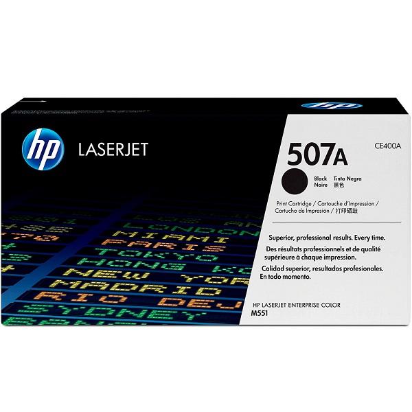 Заправка картриджа HP 507A (CE400A) в Москве