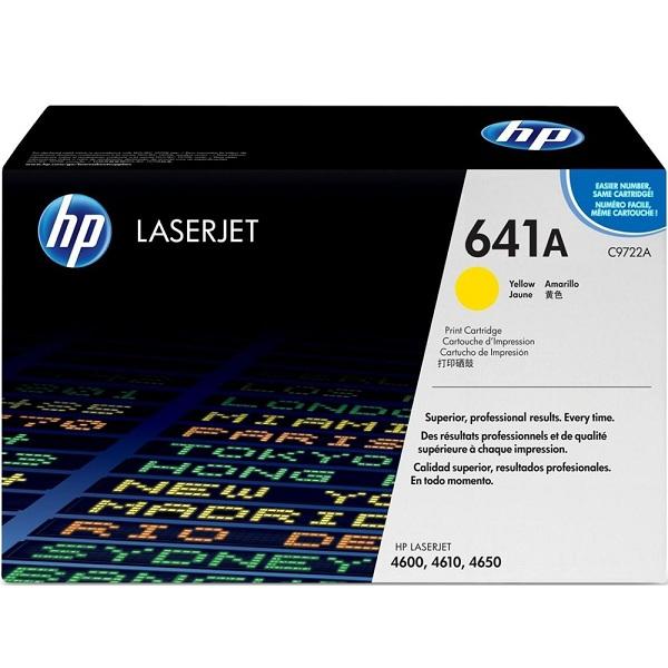 Заправка картриджа HP 641A (C9722A) с выездом