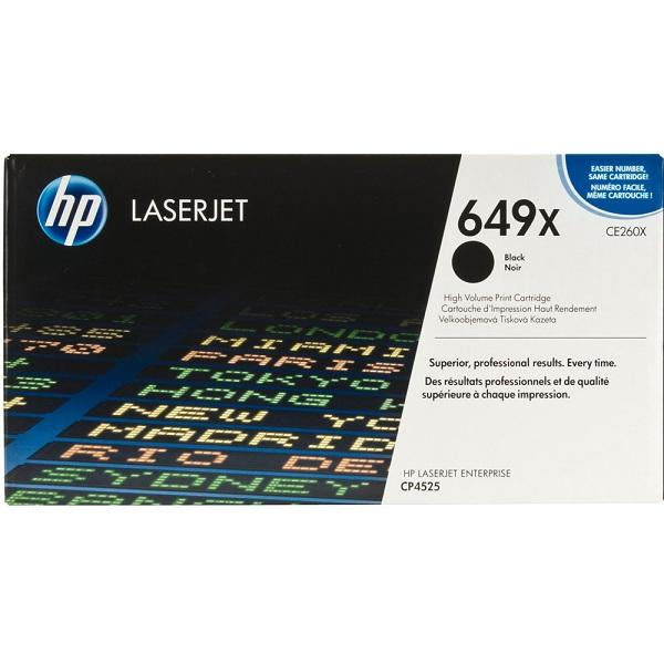 Заправка картриджа HP 649X (CE260X) с выездом