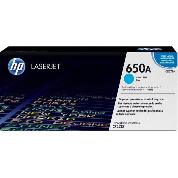 Заправка картриджа HP 650A (CE271A) с выездом
