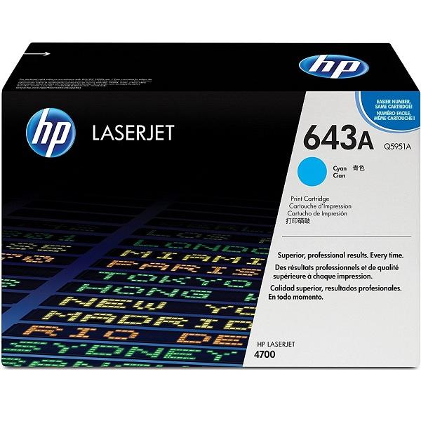 Заправка картриджа HP 643A (Q5951A) с выездом