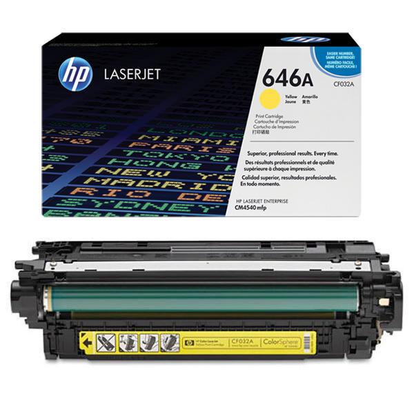 Заправка картриджа HP 646A (CF032A) с выездом