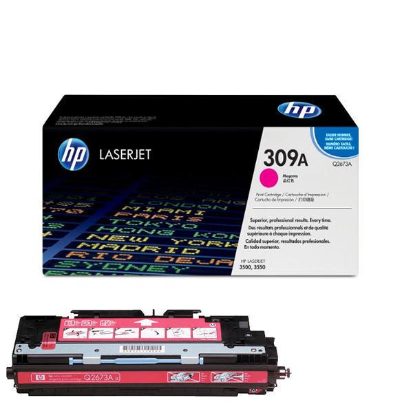 Заправка картриджа HP 309A (Q2673A) с выездом