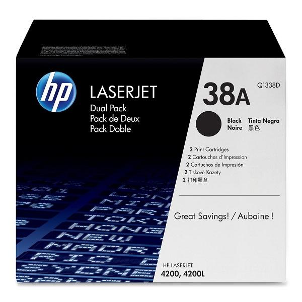 Заправка картриджа HP 38A (Q1338A) с выездом