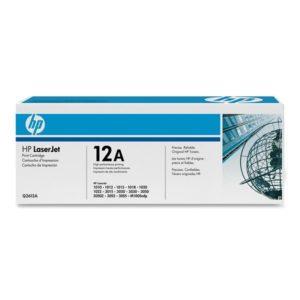 Заправка картриджа HP 12A (Q2612A) в Москве