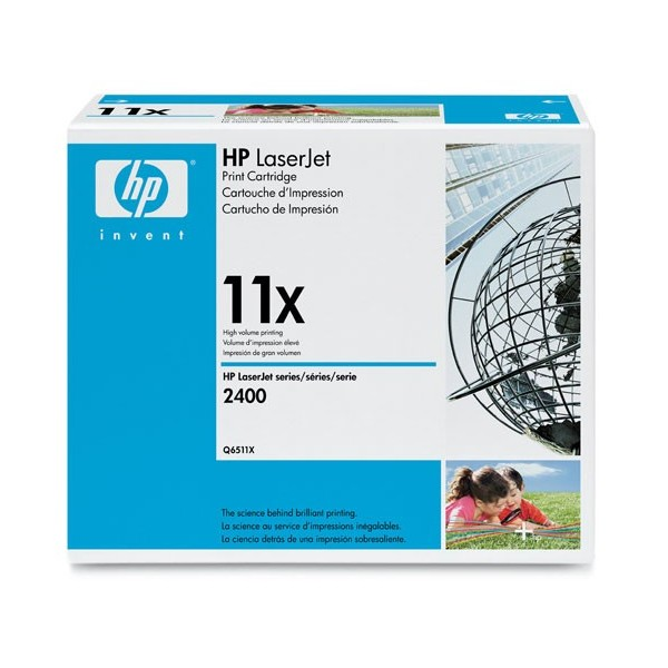 Заправка картриджа HP 11X (Q6511X) в Москве