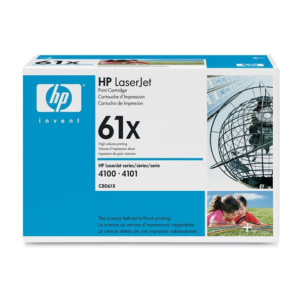Заправка картриджа HP 61X (C8061X) в Москве