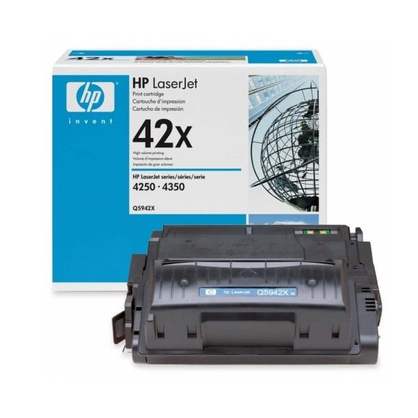 Заправка картриджа HP 42X (Q5942X) с выездом