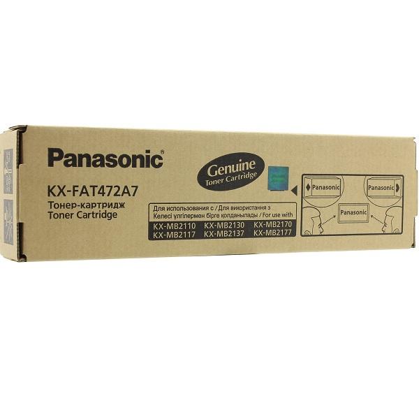 Заправка картриджа Panasonic KX-FAT472A7 в Москве