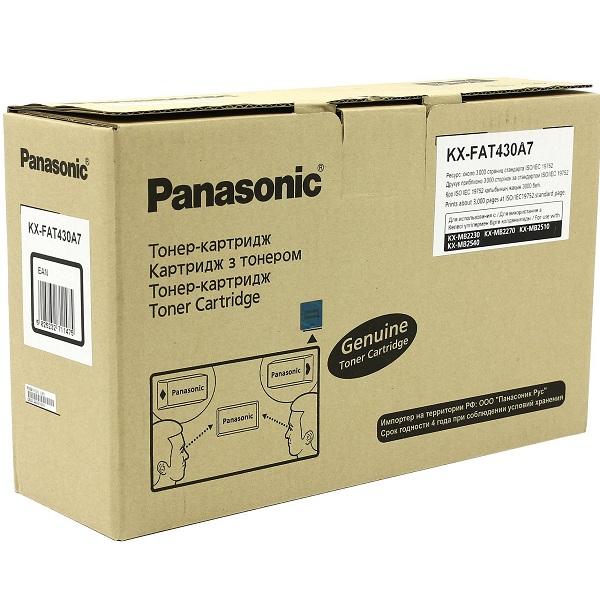 Заправка картриджа Panasonic KX-FAT430A7 в Москве