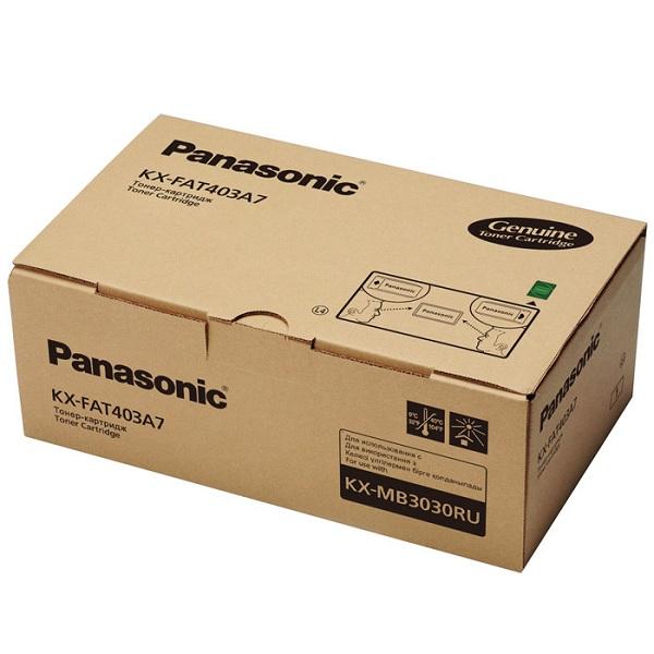 Заправка картриджа Panasonic KX-FAT403A7 в Москве