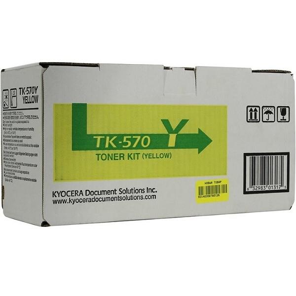 Заправка картриджа Kyocera TK-570Y (1T02HGAEU0) в Москве