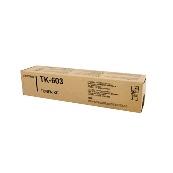 Заправка картриджа Kyocera TK-603 (370AE010) в Москве