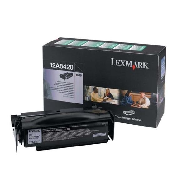 Заправка картриджа Lexmark 12A8420 в Москве