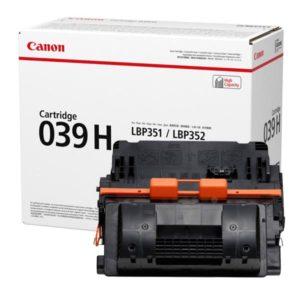 Заправка картриджа Canon 039H (0288C001) в Москве