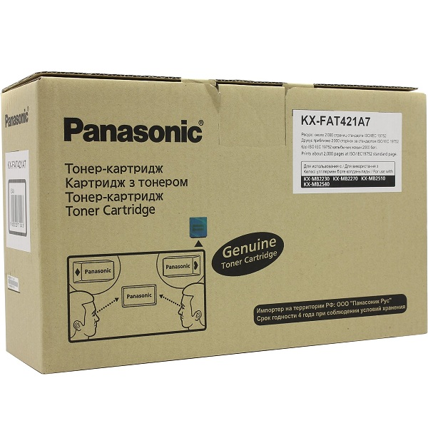 Заправка картриджа Panasonic KX-FAT421A7 в Москве