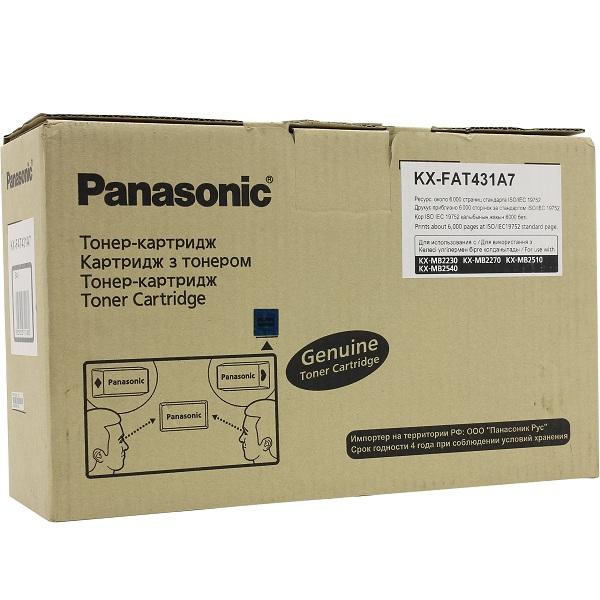 Заправка картриджа Panasonic KX-FAT431A7 в Москве
